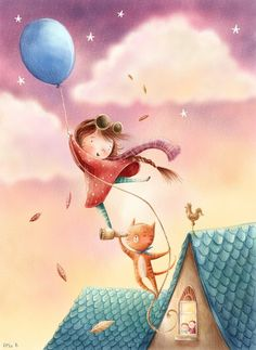 ♥ Happy Day ♥ // Rosie Butcher Illustration♥•♥•♥