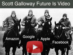 Professor Galloway's rant is brilliant but flawed. He loves Apple & Facebook. We like 1 of those two. He hates Amazon and Google. We agree  with 1 of those.