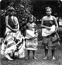 Îles Samoa - Apia - Jeunes filles