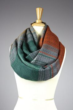 Wool look infinity scarf chunky winter scarf by ScarfObsession, $35.00
