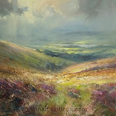 moorland painting - Google Search this is beautiful