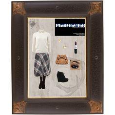 """""""Vintage Plaid"""" by jolene-bramer on Polyvore"""