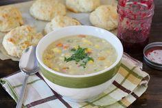 Fresh Sweet Corn Chowder | Two Peas and Their Pod #recipe #chowder #vegetarian