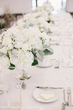 Featured Photographer: Esenam Photography; Wedding reception centerpiece idea.