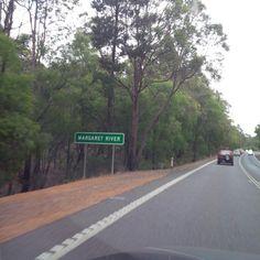 Margaret River in Western Australia