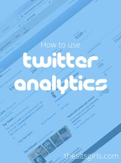 Learn how to use Twitter analytics to see what is working for you on this important social media platform.