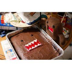 Domo Kun Cake
