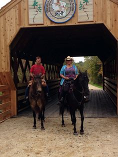 Riding the Kickapoo Valley Reserve Horse Trails in Wisconsin.