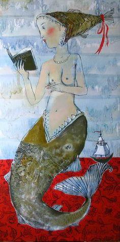 mermaid - scary tale, silvonchik