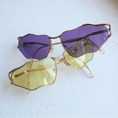 We'll take a pair of these funky sunnies in each color, please and thanks. Cute Sunglasses, Heart Shaped Sunglasses, Cat Eye Sunglasses, Sunnies, Mirrored Sunglasses, Sunglasses Women, Cool Glasses, Eye Glasses, Outfits Inspiration