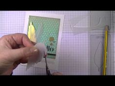 ▶ Stampin' Up Vellum Feathers by Michelle Last - YouTube