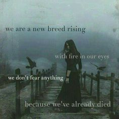 We are a new breed rising