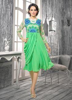 1ee35659dc Buy best selling VND Vol 3 Georgette Embroidery #kurticatalog at wholesale  price online @ #