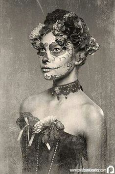 Vintage day of the dead