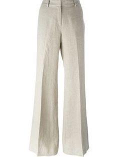 45 sugestões de roupas de linho para mulheres acima dos 50 anos   Blog da Mari Calegari Michael Kors Fashion, Korean Street Fashion, 1940s Fashion, Skirt Pants, Shorts, Classic Outfits, Linen Pants, Work Attire, Minimalist Fashion