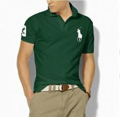 Discount Ralph Lauren Classic-Fit Big Pony Polo Faded Forest, high quality ralph  lauren 7e2fba15cd0