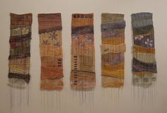 Recycling the Family Linen/Fiona Rainford Fabric Manipulation, Recycled Fabric, Fabric Art, Textile Art, Embroidery Stitches, Fiber Art, Needlework, Recycling, Tapestry