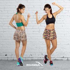 Já escolheu seu look Rivanna Fitness para o treino de hoje?