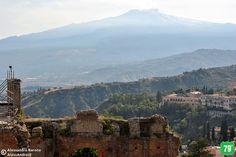 Etna Teatro Greco #Taormina #Messina #Sicilia #Sicily #Italia #Italy #Viaggiare #Viaggio #Travel #AlwaysOnTheRoad