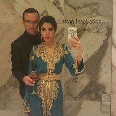 Moroccan couple #Moroccancaftan#caftaninspiration