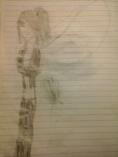 Genderbent Fang from the Maximum Ride books