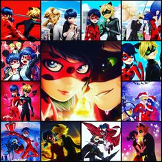 One of my favourite collages I mine of Ladybug and Chatnoir enjoy