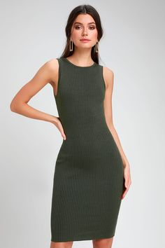 bdab59e1abce 9 Best olive green dress images | Dressing up, Cool clothes, Jewelry