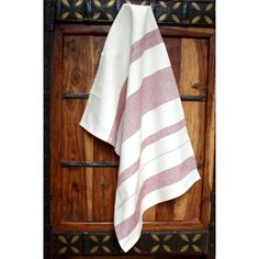 Red Stripes Cotton Kitchen Towel - Fair Trade - #fairtrade #thisbluesea #shopfairtrade  This 27 by 19 inch kitchen towel is hand woven and packaged on a retail hanger.  Meet the Artisans  Sustainable Threads  Sustainable Threads is committed to cultivating long-term fair trade relationships with low-income artisan communities. The artisans they work with are scattered across India and face diverse challenges and social concerns. They have a specific emphasis on artisan cooperatives and…