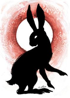 Black Rabbit of Inle - A gallery-quality illustration art print by Savannah Horrocks for sale. <3 Watership Down