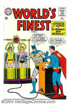 1965 - Before our comic book heroes' values were replaced with darker ones by new writers