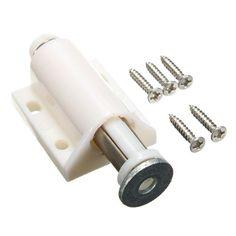 80mm ABS Telescopic Door Stopper Spring Door Holder Kitchen Latches