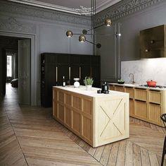 A kitchen by Art Buro