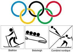 Héraldie: Symboles et pictogrammes 3 : les sports olympiques d'hiver