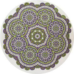 Creatie 2016-38, 30-12-2016 100 creaties mandala met Stabilo 88