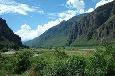 Landscape V in Sacred Valley, taken from the car.