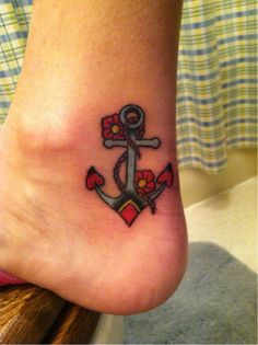 anchor tattoo- this is THE ONE