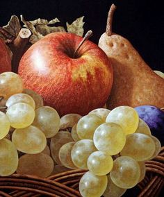 Art Prices, Art Auction Records, Art for sale - Search free Painting Still Life, Still Life Art, Still Life Pictures, Fruit Painting, Caravaggio, Fruit Art, Still Life Photography, Famous Artists, Botanical Illustration