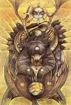 'Totem - Tree of Kindred'  Susan Seddon Boulet  1996