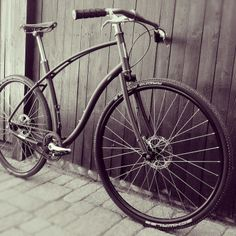 Model No.1 Steel Scorcher Edition Budnitz Bicycle