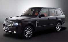 2011 Range Rover black edition