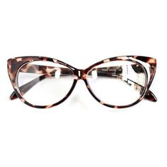 Cute Vintage Classical Eyeglasses Leopard Red Black Cat Eyes Eyeglasses Design Glasses