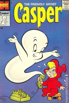 Casper the Friendly Ghost and Wendy the Good Little Witch comic books