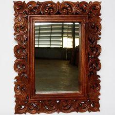 Barockspiege Espejo De Pared En Repro Antiguo Barroco Estilo Moderno Oro Blanco Arte Y Antigüedades
