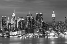 New York Landscape Wall Mural, custom made to suit your wall size by the UK's No.1 for murals. Custom design service and express delivery available.