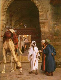 Dispute Arabs - Jean-Leon Gerome