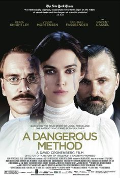 A Dangerous Method (2011)  Biography | Drama | Thriller  -- 6.5/10 --- A look at how the intense relationship between Carl Jung and Sigmund Freud gives birth to psychoanalysis. (there was something missing in this movie which was too bad as it was a good attempt.)