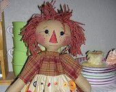 Annie's Cupboards - Handmade Raggedy Ann dolls, Raggedy Ann patterns, and vintage items handmade by Sherry Marrero.