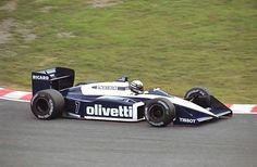 Riccardo Patrese Braham BT56-BMW 1987