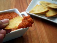 Pitadinha: Homus de pimentão