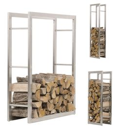 You need a indoor firewood storage? Here is a some creative firewood storage ideas for indoors. Indoor Log Storage, Indoor Firewood Rack, Firewood Holder, Firewood Storage, Wood Holder For Fireplace, Fireplace Logs, Fireplace Design, Wood Store, Into The Woods